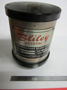 Vintage Bliley Electric Oven Holder For Quartz Radio Crystal Any Frequency