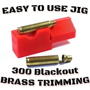 300 Blackout Trimming Jig for 2#x27;#x27; Chop Saw Auto Eject Scratch less Design USA $11.95