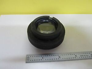 Microscope Leitz Germany Illuminator Lens Iris Optics As Is Bin u4 b 14