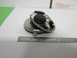Microscope Part Vintage Leitz Germany Nosepiece As Is Bin n9 14