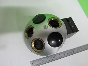Microscope Part Leitz Germany Nosepiece As Is Bin 64 21 b