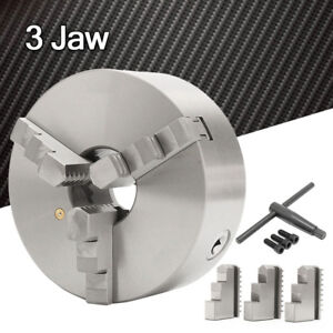 8 3 Three Jaw Lathe Scroll Chuck Self Centering Hardened For South Bend Tools