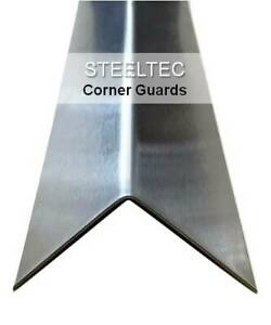 4 Pack Stainless Steel Corner Guard Angles 1 5 X 1 5 X 48 Wall Protection
