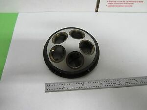 Leitz Germany Nosepiece Microscope Part Optics As Is Bin m2 03