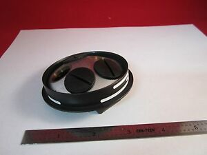 Part Of Microscope Ergolux Leitz Wetzlar Nosepiece As Is Bin c6 1 a