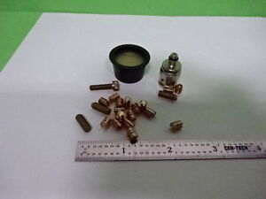 Lot Studs 10 32 Wax Accessories Bruel Kjaer Denmark Accelerometer As Is 9 dt 01