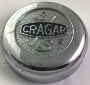 Cragar Chrome Center Cap Hubcap 3 1 4