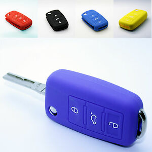 Vw Seat Skoda Key Cover Protective Case Car Key Silicone Case Cover Case