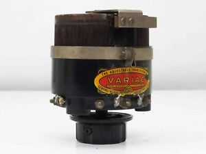 General Radio Type 200 B Variac Adjustable Transformer 170va Pri 115 Sec 0 185
