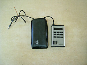 Metrosonics Db 307 Metrologger Noise Dosimeter With Lead And Case Free Shipping