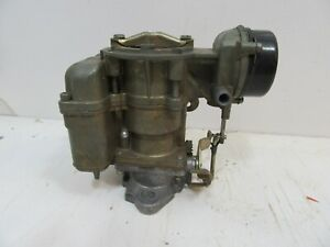 1970 72 Ford 170 200 6 Cyl Carter Yf 4918s Carb W Auto Choke Parts