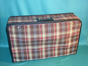 Vintage Suitcase Vw Bug Split Oval Bmw Mercedes 190 Sl Porsche 356 Pre A
