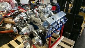 Chevy 355 Cid 400 hp Custom Crate Engine Turn Key Dyno Test 2 Year Warranty