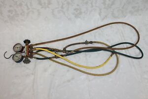 Ritchie Yellow Jacket Test Charging Manifold R 22 R 12 R 502 Gauge