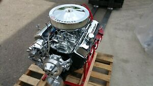 Chevy 383 Cid 410 hp Custom Crate Engine Turn Key Dyno Test 2 Year Warranty