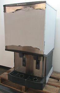 New Scotsman Hid540a Meridian Countertop Ice Machine Water Dispenser 500lbs day