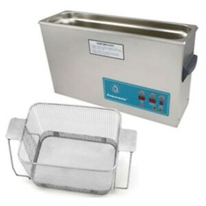 Crest P1200d 45 Ultrasonic Cleaner W Power Control perf Basket