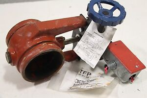 Tyco Fire Protection Grinnell 4 Butterfly Valve Fig 580 300 Psi