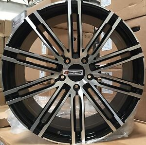 22 Wheels Pirelli Tires Gloss Black Mch Rims Fit Porsche Cayenne Gts Style
