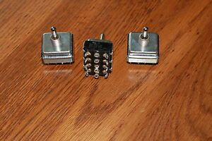 Cutler Hammer 3 position Toggle Switches 10a 250vac 15a 125vac 3 4hp 250vac