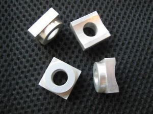 Rail Spacers For A Delta Unisaw All New Set Of Four Cnc Machined Aluminum