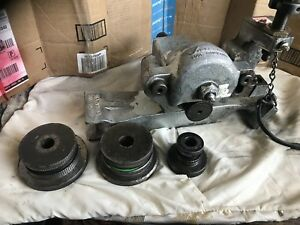 Victaulic 226 Roll Groover W Extra Roll Groovers