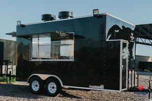 New Food Trailer 8x14 Concession Custom Trailer Manufacturers 7x10 8x16 8x20