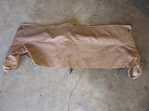 Triumph Spitfire Factory Tonneau Cover Boot Tan Hard Top