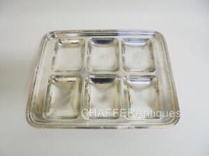 Rare Mappin Webb Prince S Plate Compartmentalised Serving Tray C 1890s