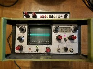 Nortec Ndt 131 Ultrascope Flaw Detector Thickness Gage Oscilloscope Extras