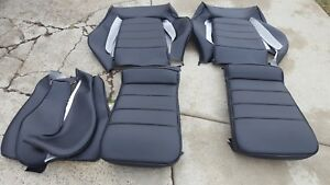 Vw Scirocco 16 Valve German Vinyl Front Upholstery Kits New Late 80 S New