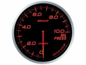 Defi Df10202 Advance Bf Gauge Amber Illumination 60mm Oil Pressure