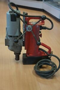 Milwaukee 4203 Electromagnetic Drill Press Swivel Base Works Great