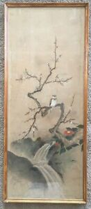 Antique Korean Painting On Paper Signed Seal Mark