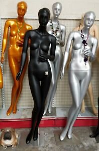 Used 027 1pc Only pick 1 Female Abstract Mannequin Local Pickup Los Angeles