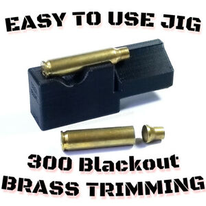 New 300 Blackout Trimming Jig for 2#x27;#x27; Chop Saw Auto Eject Scratch less Design $11.99