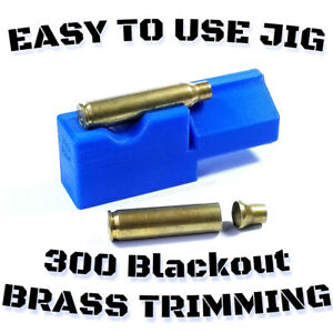 300 Blackout Trimming Jig for 2#x27;#x27; Chop Saw Auto Eject Scratch less Design USA $11.99