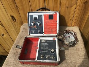Fisher M scope Tw 5 Pipe cable Locator Transmitter Receiver Vintage Underground