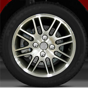 15x6 Factory Wheel Dark Argent Charcoal For 2000 2011 Ford Focus