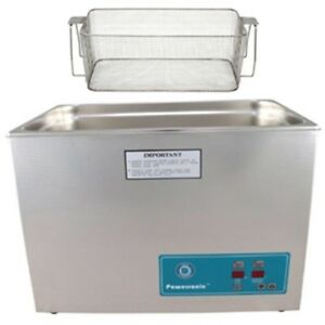 Crest P2600h 45 Ultrasonic Cleaner heat Timer mesh Basket
