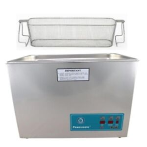 Crest P1800d 45 Ultrasonic Cleaner With Power Control perf Basket