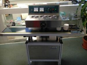 Usa Stocked Lgyf 2000bx Continuous Induction Plastic Bottle Sealing Machine