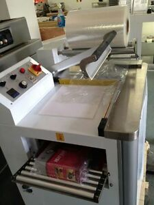 New Fm 400b Dual Function Shrink Tunnel And Above Plastic Film Sealing Machine