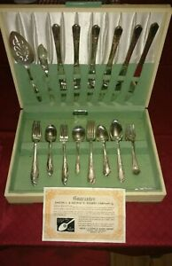 Rogers Company Oneida Limited Silver Plate Silverware Set