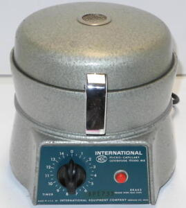 Iec Mb Micro Capillary Centrifuge With 24 Place Rotor And Lid