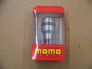 Momo Autoalu Shift Knob Fits Automatic Transmission Shifters W Top Button Satin