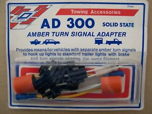 Trailer Wire Turn Signal Adapter 3 Wire To 2 Wire Tail Stop Light Converter