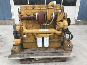C18 Cat Engine 575 Hp Good Running Condition Sae 1 14 Industrial