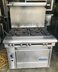 Garland us Range Six Burner With Convection Oven Ng