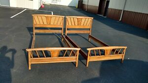 Mid Century Modern Twin Bed Sets Drexel 2 Complete Sets
